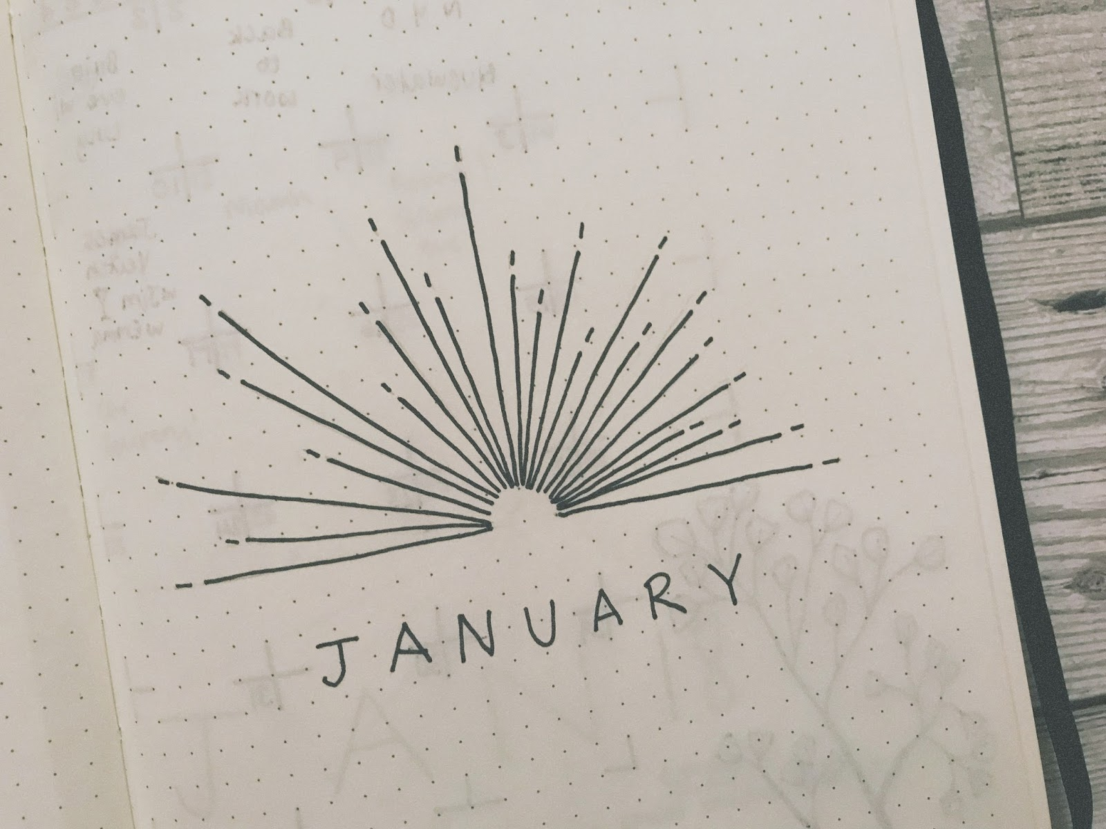 A cover page for January 2018
