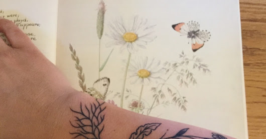 Wildflowers with Roots Tattoo