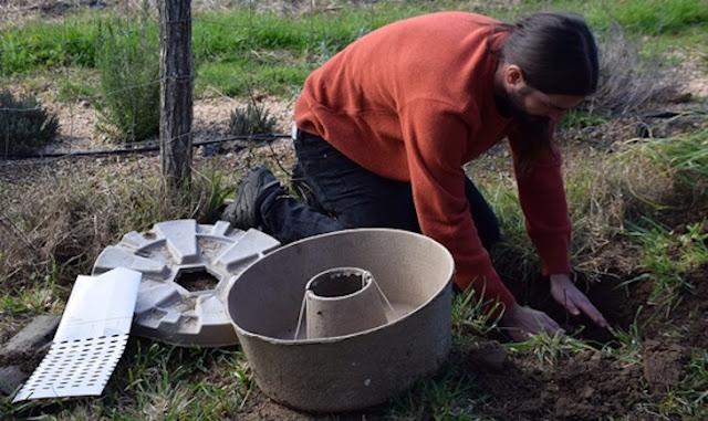 """Reforestación con """"donuts"""" en Tirafacás"""