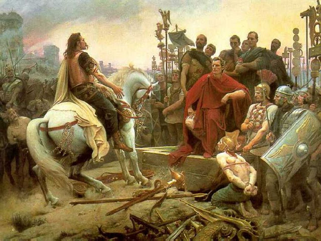 Winners and Losers of Julius Caesar's Gallic War Battles