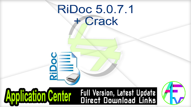RiDoc 5.0.7.1 + Crack