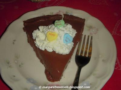Margaret's Morsels   Chocolate Dream Pie