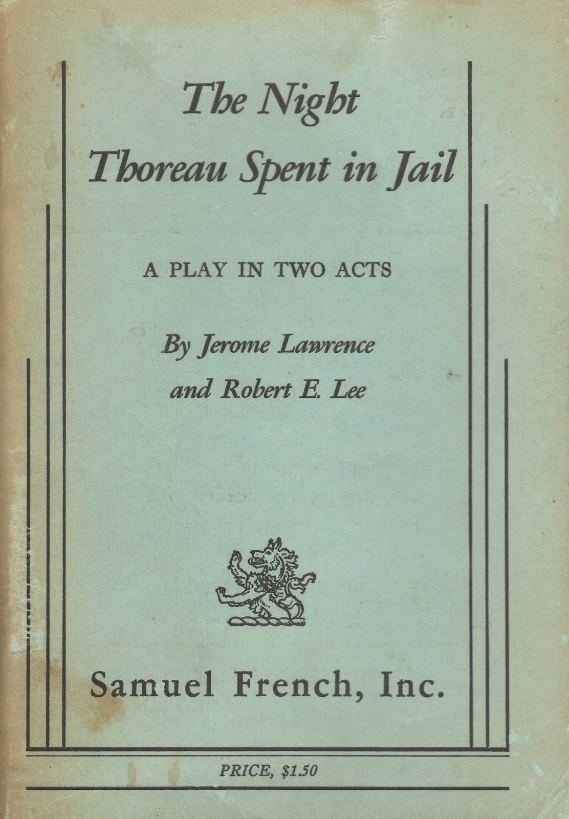 an analysis of the main theme of jerome lawrence and robert e lee Inherit the wind: biography: jerome lawrence, free study guides and book notes including comprehensive chapter analysis, complete summary analysis, author biography information, character profiles, theme analysis, metaphor analysis, and top ten quotes on classic literature.
