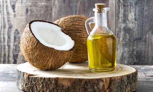 Aceite de coco para desmaquillar