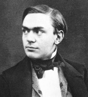 Alfred Nobel, pictured at around the time he met Sobrero in Paris in 1850
