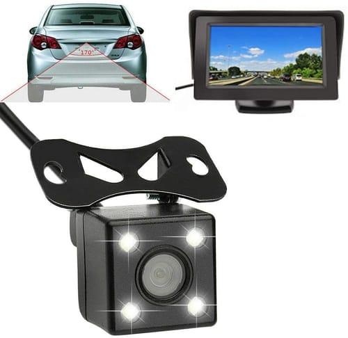 ZCYJIKK Camera TFT LCD Car Rear View Monitor Kit