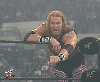 WWE / WWF Vengeance 2001 - Christian reaches for the tag