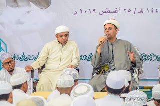 Imam Masjid as Segaf Hadromaut Berikan Apresiasi Pada Santri Dalwa