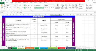 Free Agile Project Management Excel Template