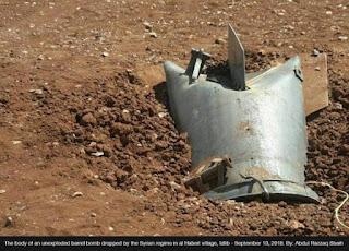 Meski Dikutuk PBB, Rezim Syiah Suriah Tetap Gunakan Ribuan Bom Barel pada 2018