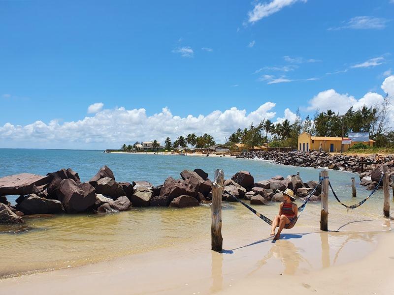 Praia do Saco, litoral sul de Sergipe