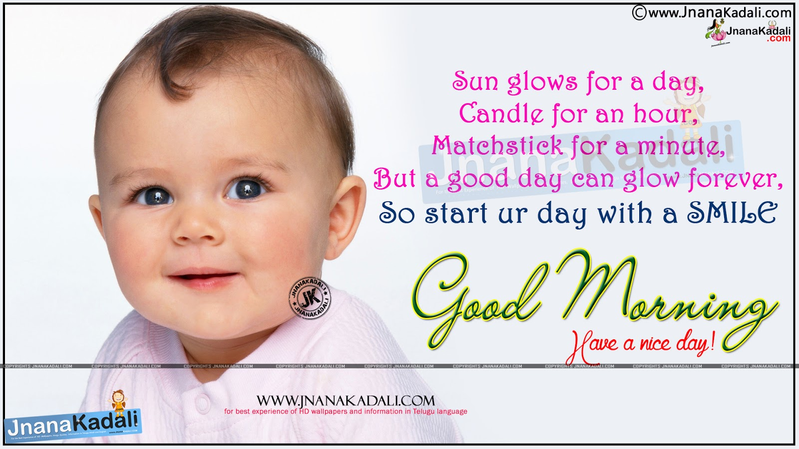 Early morning wishes and good morning quotes with cute baby hd new good morning nature quotes online famous happy morning quotes pics good morning nature m4hsunfo