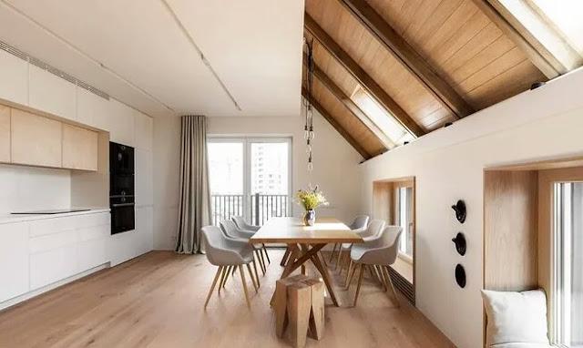 Arrangement of a living room