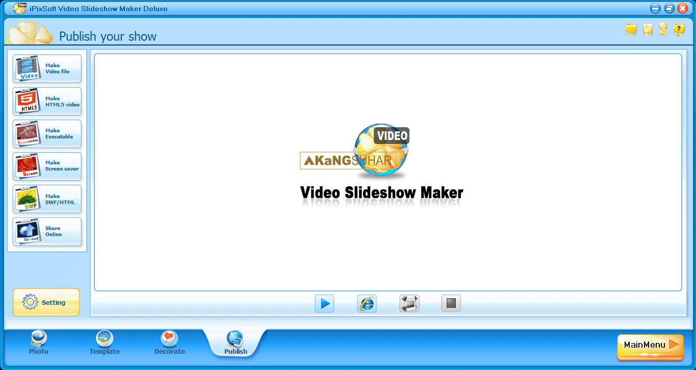 Download iPixSoft Video Slideshow Maker Deluxe Full Crack Terbaru