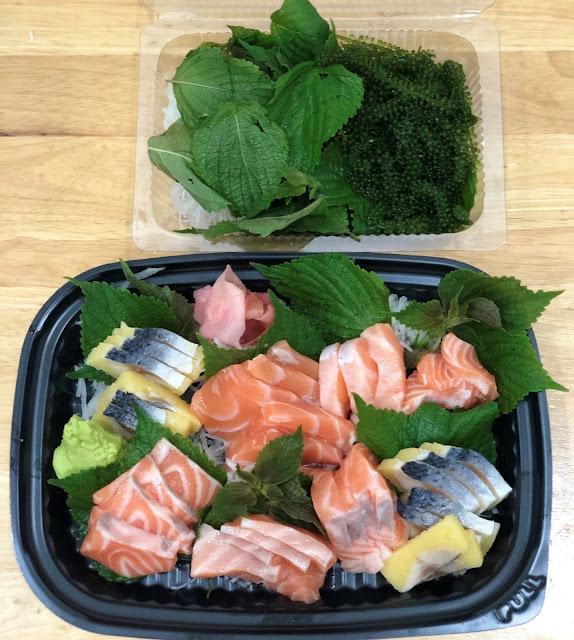 Sushi ca Hoi - Sushi ca Trich - Rong bien Hokkaido giao tan nha Da Nang - 0905762499 Mr.Huy