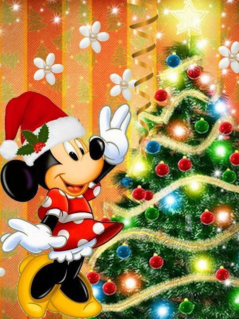 Dibujos Navidad Mickey Mouse