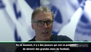 International - Blanc : ''Mbappé et Hazard peuvent devenir des phénomènes''