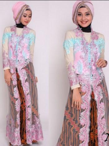 10 Model Kebaya Muslim Modern Simpel Terbaru 2017