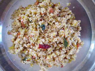 Barnyard millet Raw Mango Rice