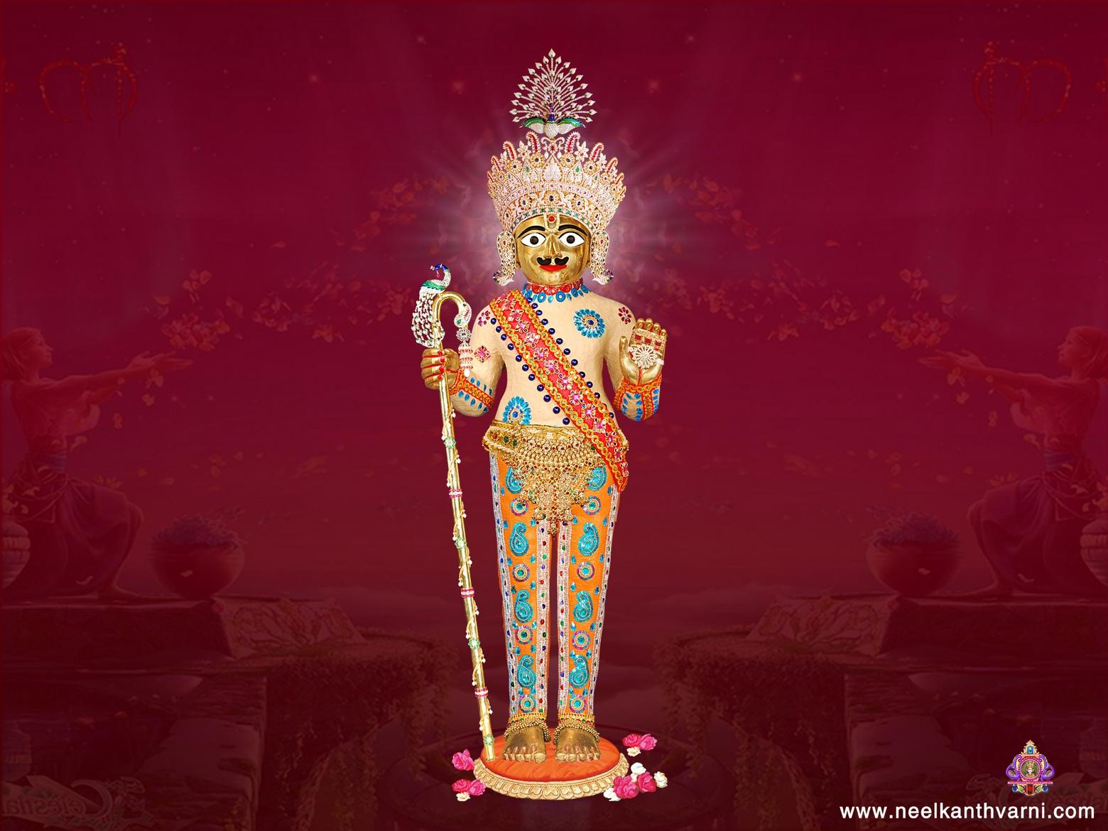 Ghanshyam Maharaj Wallpaper Hd Jay Swaminarayan Wallpapers Harikrishna Maharaj Vadtal Images