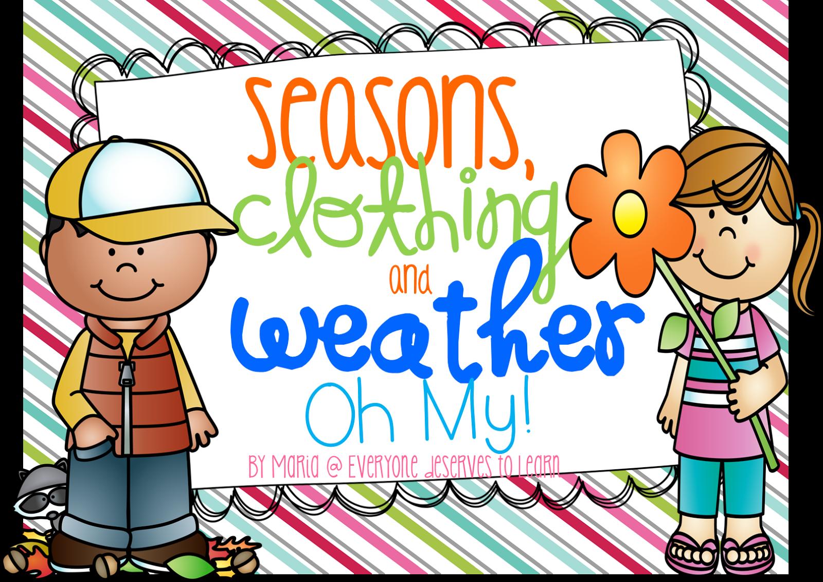 Teaching Seasons And Weather
