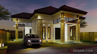 contoh rumah sederhana tapi mewah