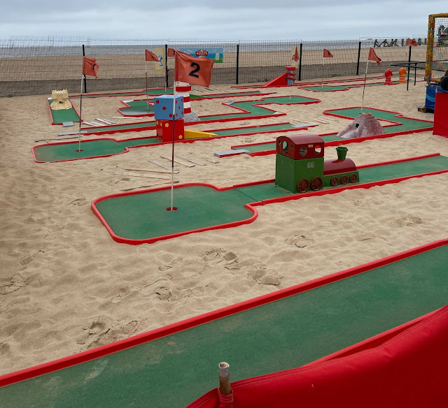 Beach Crazy Golf in Great Yarmouth. Photo by Christopher Gottfried, June 2021