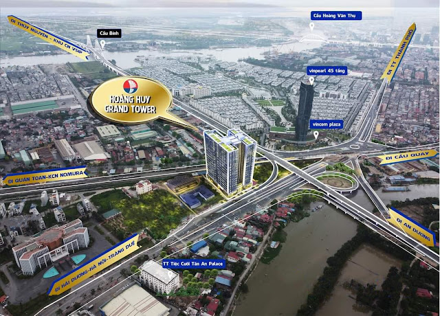 Hoàng Huy Grand Tower Sở Dầu 3D