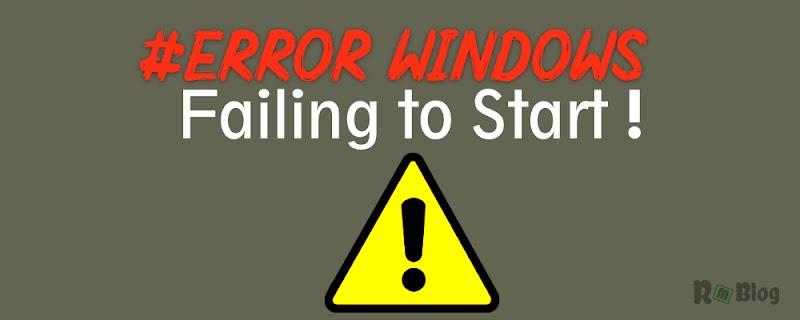 9 Hal yang Bisa Kalian Lakukan Jika Windows Gagal Untuk Memulai