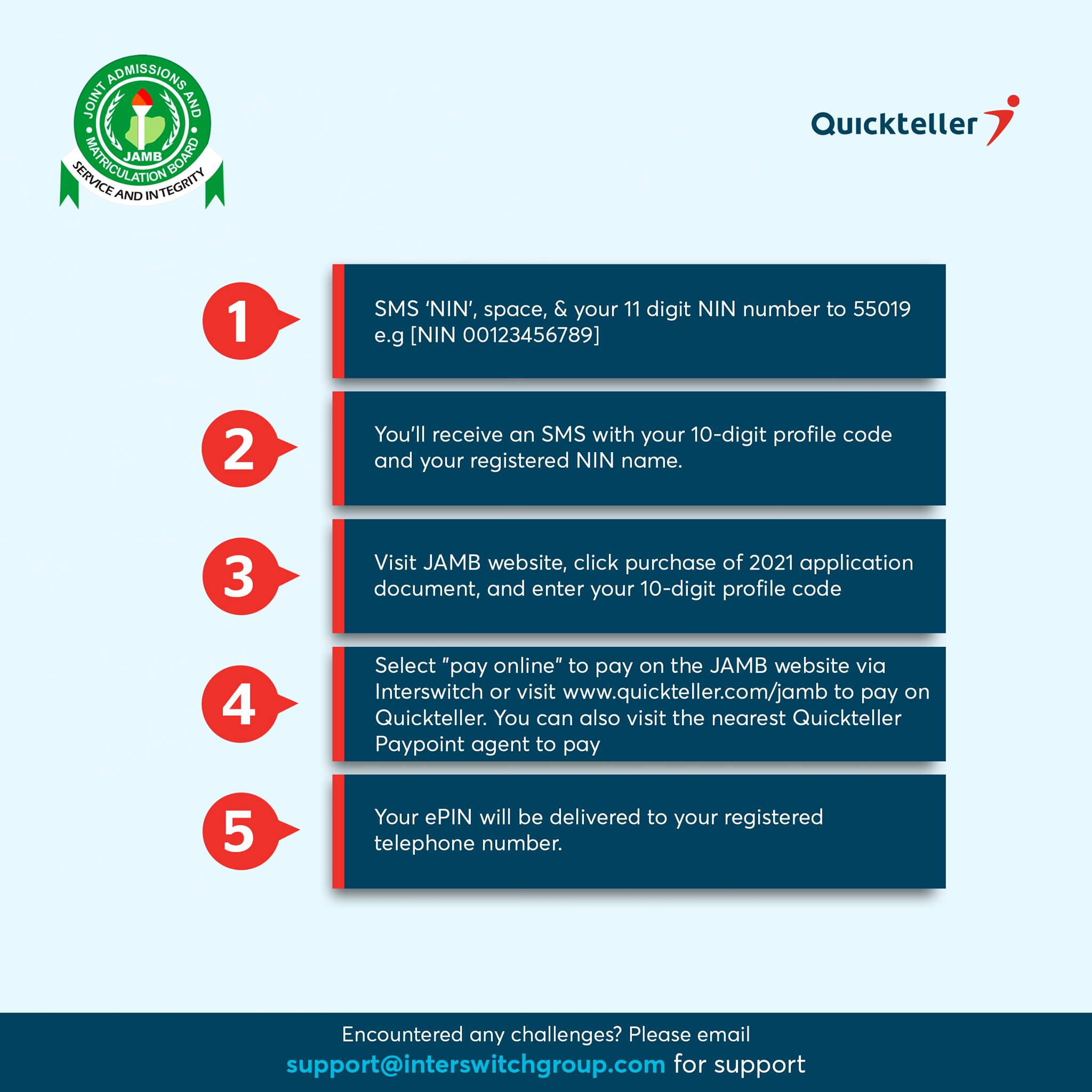 How to Buy 2021 JAMB Form (e-PIN) on Remita & Quickteller