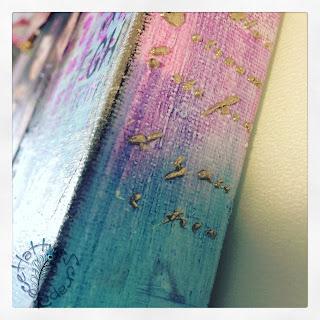 Embossing con pasta de textura