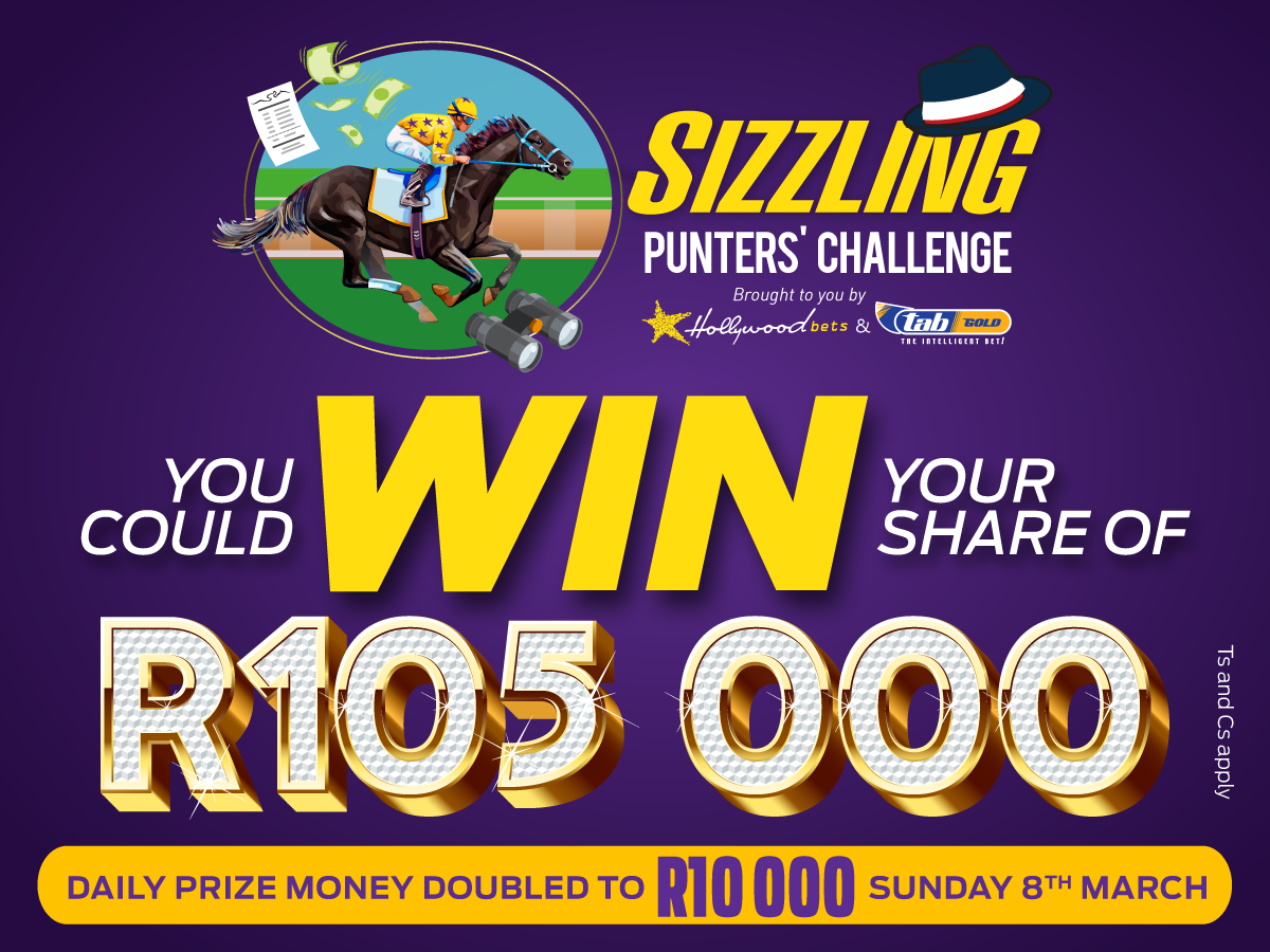 Sizzling Punters' Challenge - Win Your Share of R105,000 with Hollywoodbets