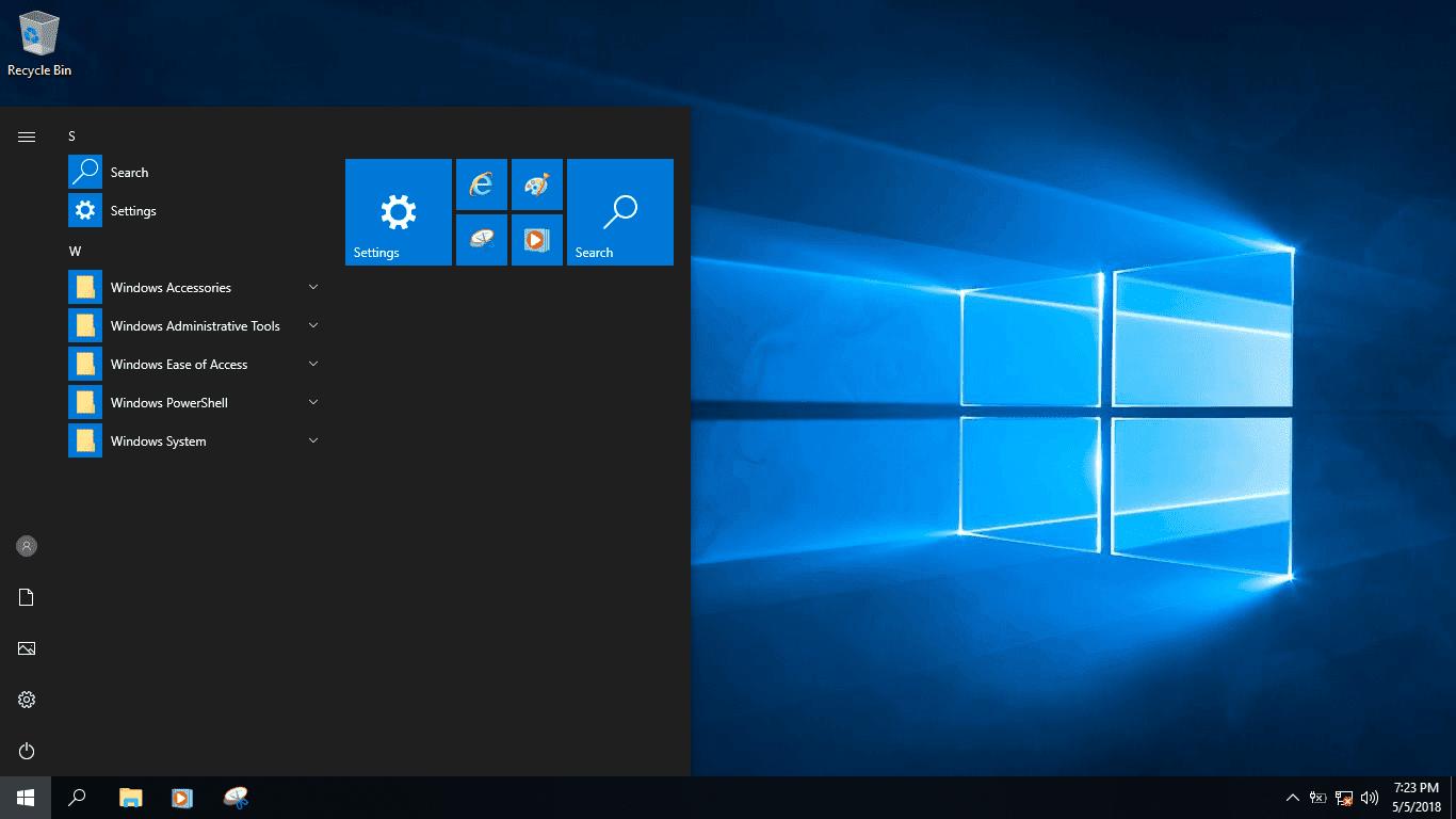Bộ cài Windows 10 Pro Lite version 1803 phiên bản rút gọn tính năng -3