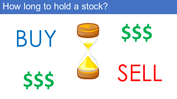 How long to hold a stock?
