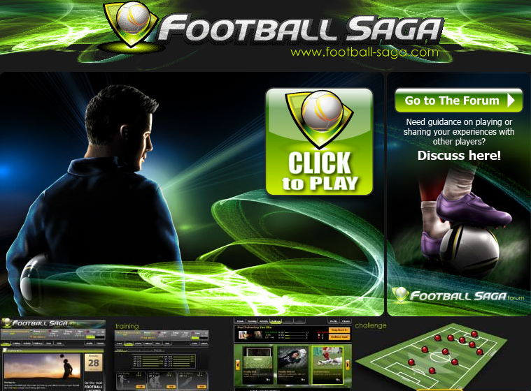 Wallpaper Games Football Saga Facebook