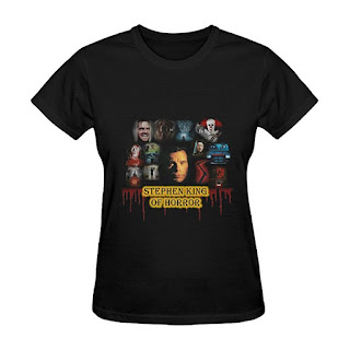 Stephen King, King of Horrors, T Shirt, Stephen King T Shirts, Stephen King Store