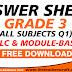 ANSWER SHEET GR3 Q1