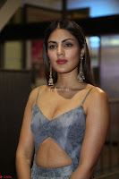 Rhea Chakraborty in a Sleeveless Deep neck Choli Dress Stunning Beauty at 64th Jio Filmfare Awards South ~  Exclusive 123.JPG