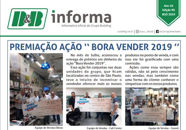 Informativo B & B Agosto 2019