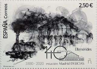 140 ANIVERSARIO ESTACIÓN MADRID DELICIAS