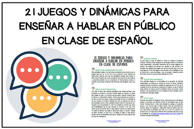 Laclasedeele Juegos Y Dinámicas Para Hablar En Público