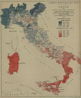 mappa italiana capelli neri occhi castani