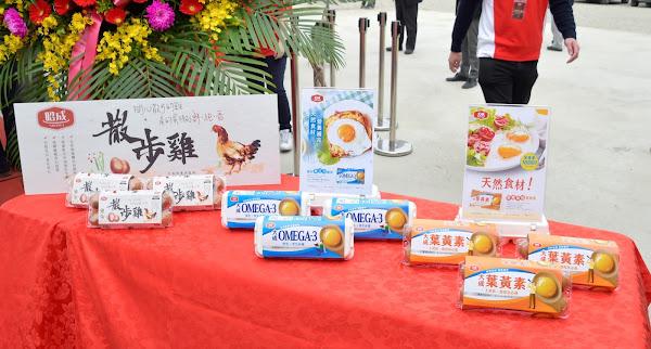 大成彰化昭成蛋品廠動土 引進生食級雞蛋處理技術