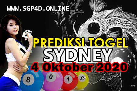 Prediksi Togel Sydney 4 Oktober 2020