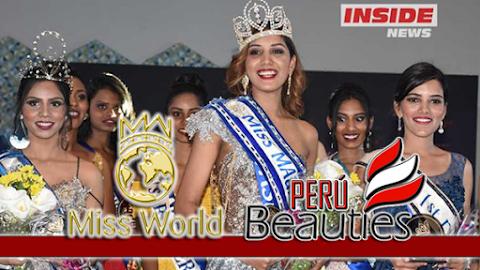 Urvashi Gooriah es Miss World Mauritius 2018/2019