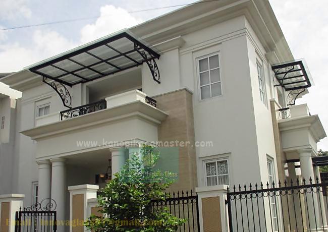 Kanopi Kaca Balkon Bogor