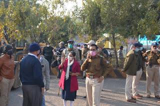 जबलपुर पुलिस एवं प्रशासन की नगर निगम के साथ मिलकर संयुक्त कार्यवाही
