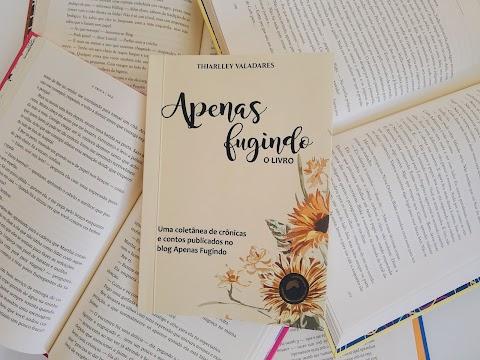Garanta o seu exemplar de 'Apenas Fugindo: o livro', já disponível nas lojas online