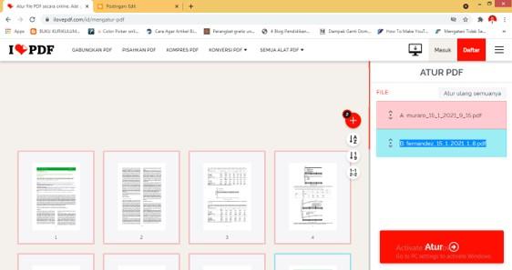 Cara Menyisipkan Halaman PDF ke PDF Secara Online