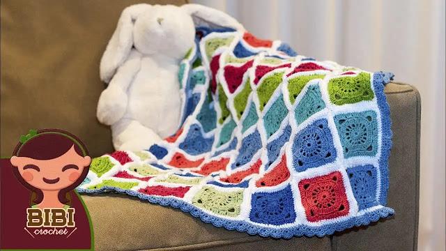 Cobija a Crochet